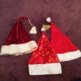 Новогодние колпаки шапки деда мороза. Фото 1.