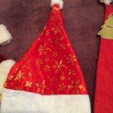 Новогодние колпаки шапки деда мороза. Фото 3.