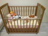 Детская кроватка б/у. Фото 1.