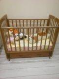 Детская кроватка б/у. Фото 3.
