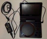 Toshiba sd-p73swr - портативный dvd плеер. Фото 2.