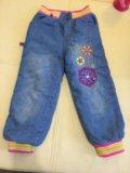 Теплые джинсы. Фото 1.