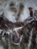 Натуральная мутоновая шуба. Фото 1.