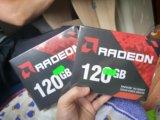 Radeon x3 ssd диск 120гб. Фото 1.