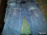 Итальянские джинсы новые. Фото 2.