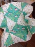 Детское одеяло ручной работы. Фото 4.