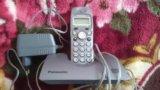 Радиотелефон dect panasonic kx-tcd420rum. Фото 1.