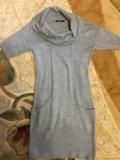 Тёплое платье туника. Фото 2.