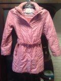 Осенняя куртка для девочки. Фото 3.