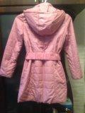 Осенняя куртка для девочки. Фото 1.