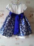 Праздничное детское платье 98 р. Фото 2.