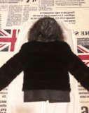 Куртка норка-чернобурка-кожа!!!. Фото 3.