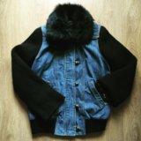 Куртка  джинсовая plein sud. Фото 1.