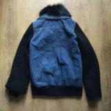 Куртка  джинсовая plein sud. Фото 2.
