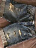 Джинсовые шорты. Фото 1.