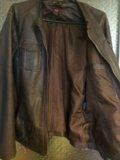 Куртка из кожзаменителя. Фото 3.