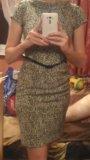 Платье теплое zarina 42. Фото 1.