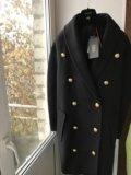 Пальто из коллекции h&m balmain. Фото 1.