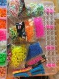 Набор для плетения из резиночек. Фото 3.