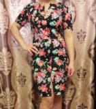 Цветочное платье. Фото 1.