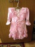 Детское нарядное платье. Фото 2.