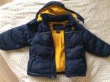 Куртка зимняя, размер  104-110. Фото 3.