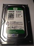 Жесткий диск sata2 westerndigital wd5000aakx 500gb. Фото 1.