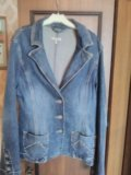 Пиджак джинсовый. Фото 1.