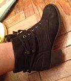 Кожаные осенние ботинки. Фото 4.