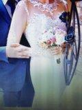 Свадебное платье ( одевала на регистрацию) торг. Фото 3.