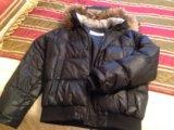 Куртка мужская чёрная фирмы baon. Фото 1.