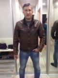 Куртка натуральная кожа. Фото 1.
