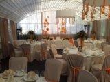 Оформление банкетного зала на свадьбу. Фото 3.