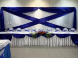 Оформление банкетного зала на свадьбу. Фото 4.