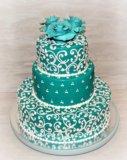Свадебный торт. Фото 2.