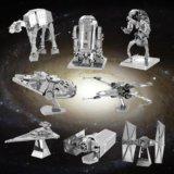 """Star wars 3d-пазл т-65 """"x-крылый истребитель"""". Фото 4."""