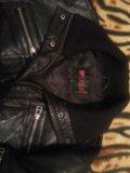Натуральная кожаная куртка. Фото 4.