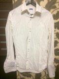 Мужская рубашка white cuff. Фото 1.