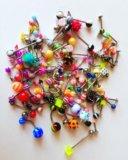Сережки для пирсинга. Фото 1.