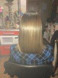Кератиновое выпрямление и восстановление волос. Фото 2.