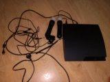 Playstation 3 slim 320gb. Фото 2.