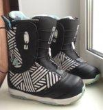 Ботинки для сноуборда burton. Фото 1.