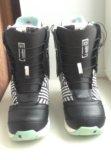 Ботинки для сноуборда burton. Фото 2.