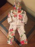 Костюм детский на синтепоне 98-104 kenzo. Фото 4.