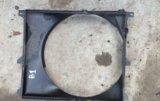 Диффузор радиатор бмв е34. Фото 1.