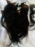 Волосы натуральные на лентах... Фото 1.