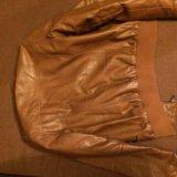 Куртка кожаная(жен). Фото 1.