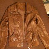 Куртка кожаная(жен). Фото 2.