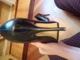 Туфли черные кожаные 36 размер. Фото 3.