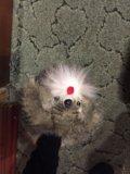 Тёплые тапки собачки. Фото 1.